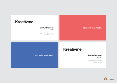 Kreativme-kartvizit