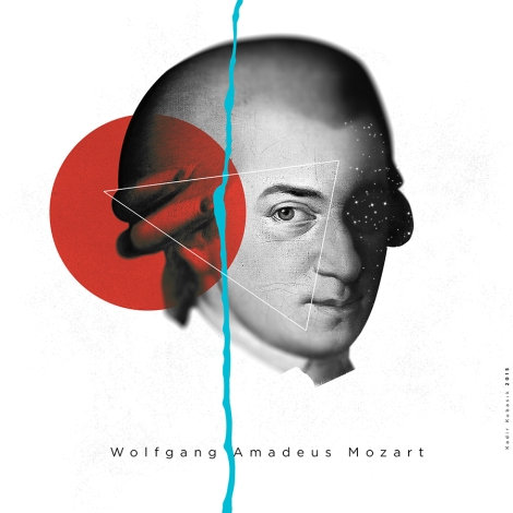 Mozart-Illustration